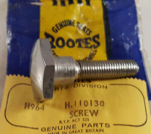 Rootes Group Humber Super Snipe Original Nos Bucket Seat Special Screw