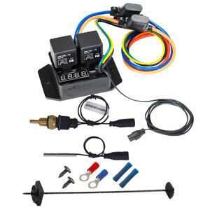 Digital Thermatic Fan Switch With 1 4 Npt Thermal Sensor Kit Part 0445