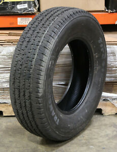 4 Firestone Transforce 245 75r17 Ht Lre 121 118r Take Off Tires 2457517 Tire