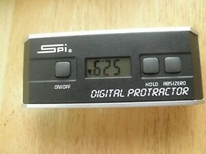 Spi Digital Protractor With Case