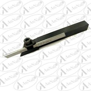 Small Cut Off Parting Tool 10 Mm Square Holder Hss Blade suits Mini Lathes