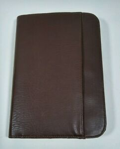 Mundi Brown Faux Leather Day Planner Organizer 3 Rings