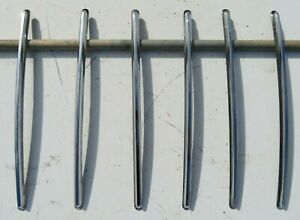 Oem 1955 1956 1957 Chevrolet Nomad Pontiac Safari Tailgate Side Trim 6 Piece Set