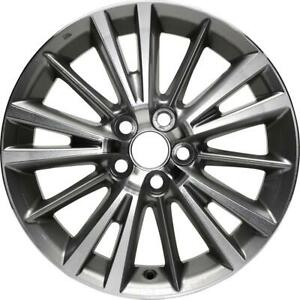 Toyota Corolla 2014 15 16 17 18 12020 16 Oem Replacement Rim 4261102m50 Aly751
