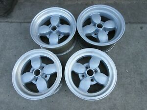 Bmw 2002 Tii Vintage Racing Wheels Scca Staggers 13x5 5 13 X7 Gc Rare Set 4