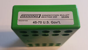 55209 REDDING COMPETITION SEATING DIE 45 70 US GOV#x27;T BRAND NEW FREE SHIP $114.99