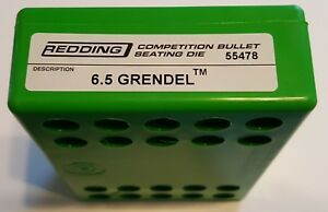 55478 REDDING COMPETITION SEATING DIE 6.5 GRENDEL NEW FREE SHIP $174.99