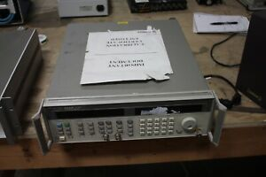 Agilent Hp 83752b Opt 1e1 Synthesized Sweeper 01 20ghz