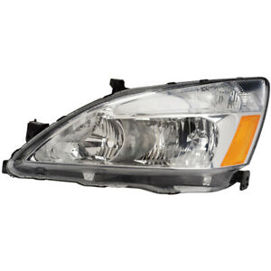 For Honda Accord 2003 2004 2005 2006 2007 Left Side Headlight Assembly