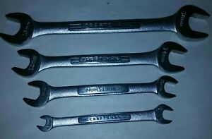 Craftsman Metric Open End 4pc Wrench Set Usa 6 8mm 10 11mm 12 14mm 16 18mm