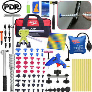 88pcs Pdr Tools Dent Puller Lifter Paintless Hail Ding Hammer Removal Repair Kit
