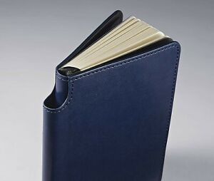 Cross Ruled Lined Small Leather Journal Midnight Blue Keep It Classy