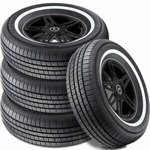 4 Ironman By Hercules Rb 12 Nws 205 70r15 96s White Wall All Season 440ab Tires