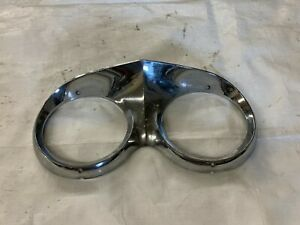 1959 1960 Cadillac Headlamp Bezel Chrome Surround Trim Molding