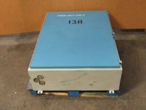 Hoffman 36 x48 x12 Electrical Enclosure Box Panel W Backplate Used