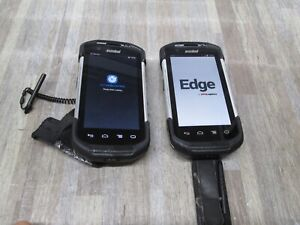 Lot Of 2 Zebra Symbol Tc75ah Android Mobile Barcode Scanner