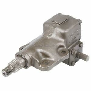 For Ford Bronco 1966 1977 Manual Steering Gear Box Gearbox Tcp