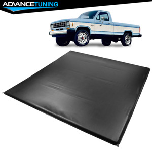 Fits 83 11 Ford Ranger Styleside 6 Ft 72 Truck Bed Four Fold Led Tonneau Cover