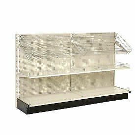 Lozier Gondola Shelving 36 w X 25 d X 72 h Single Side Wall Add on 796433