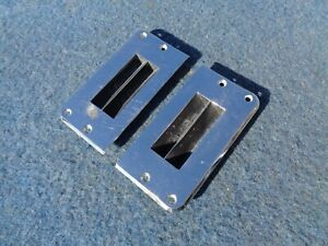 1964 Buick Riviera Console Vents Pair 1963