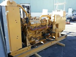 Caterpillar 3412 Generator Set 420 Kw Standby Sr 4 3 Phase 420kw Documented 53