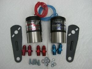 Top Quality Nos Nx Cheater Nitrous Fuel Solenoids W Brackets Fittings 250hp