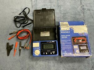 Hioki Ir4056 20 Digital Insulation Tester