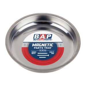 Magnetic Tray Stainless Steel Magnetic Parts Tray 4 1 4 inch Diameter