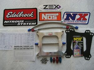 Pro 250 Cheater Nos Plate New Holley 4150 Cheater Nitrous Plate Kit 50 250hp