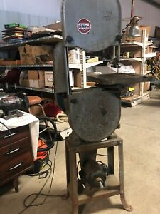 Rockwell Delta Lbs 28 14 Vertical Band Saw Wood And Metal Runs Great