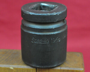 Snap On Tools Im 342 3 4 Dr 6 Point Sae 1 1 16 27mm Shallow Impact Socket