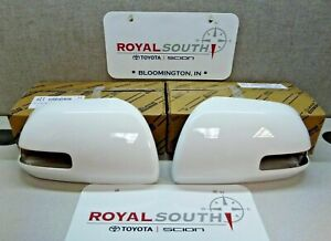 Toyota Tacoma 2012 2015 Super White 040 Outer Mirror Covers Set Genuine Oem Oe