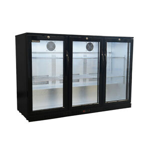Procool Residential 3 door Back Bar Beverage Cooler Home Bar Fridge