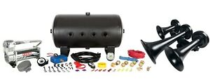 Nathan Airchime K3 Real Train Horn Kit With Hornblasters 544 Onboard Air System