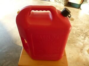 Blitz Preban 6 Gallon 16 Oz Gas Fuel Can With Flexable Spout Model 11841