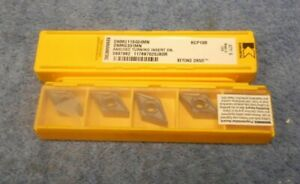 Kennametal Carbide Inserts Dnmg 331 Mn Grade Kcp10b Pack Of 5