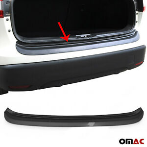 Dark Glossy Abs Plastic Rear Bumper Guard Sill Cover Fits Kia Sportage 2017 2020