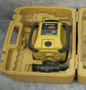 Topcon Rl h4c Self Leveling Rotary Laser With Futura Cr2