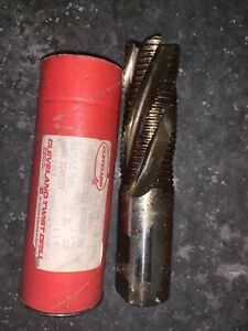 Lot 3 Cleveland Twist Drill Hss Roughing End Mill 1 1 4 Shank 5 flute 701103