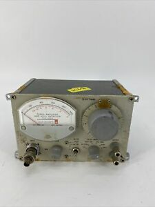 General Radio Company 1232 a Tuned Amplifier And Null Detector 1232a Untested