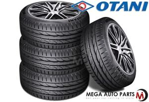 4 New Otani Kc2000 235 50r19 103y Xl All Season Traction High Performance Tires