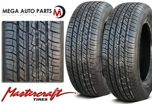 2 New Mastercraft Srt Touring 195 60r14 M s All Season High Performance Tires