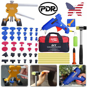 Superpdr Puller Tools Pro Car Paintless Dent Repair Hail Removal Diy Lifter Set