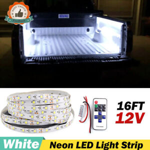 White Neon Under Car Accent Underbody Led Decoration Lights For Ford F150 F250