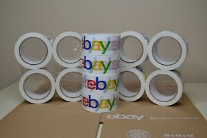 12 Rolls Of Ebay 2 X 75 Yard Packing Shipping Tape Ebay New Priority Mail