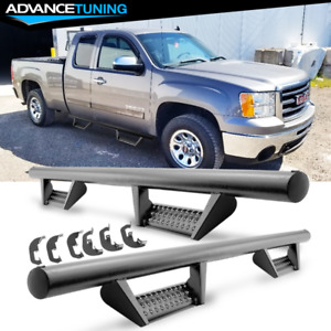 Fits 07 18 Chevy Silverado Extended Cab Bck Style Side Step Running Boards