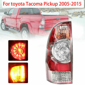 Left Driver S Side Led Tail Light Lamp For 2005 2015 Toyota Tacoma To2800177