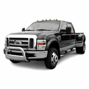 Black Horse Fit 04 19 Ford F150 Stainless Steel Bull Bar W Skid Plate 3 5 Oval