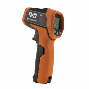 Klein Tools Digital Thermometer Dual laser Infrared No Contact Temperature Meter