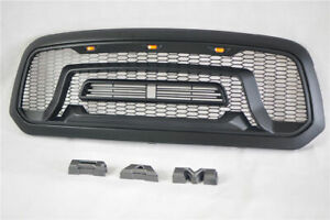 Front Led Grille Guard For Dodge Ram 1500 2013 2018 Abs